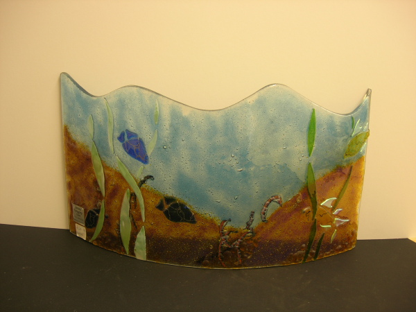 Fused Glass Pieces I Can Design And Make Either Abstract
